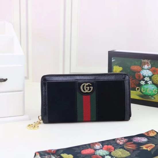 Gucci Ophidia continental wallet 523154 black