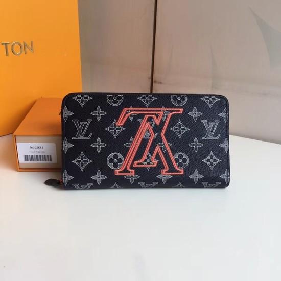 Louis Vuitton Upside Down Monogram Ink Zipper wallet 62931
