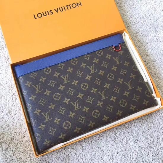 b38816bce116 Louis Vuitton Monogram Canvas Clutch Bag POCHETTE APOLLO A61692