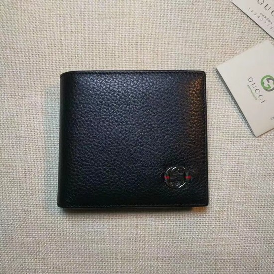 Gucci Calf leather Wallet 365464 black