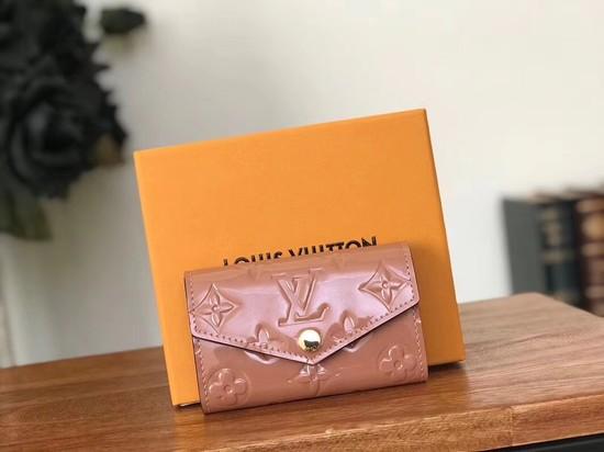 Louis Vuitton Monogram Vernis 6 KEY HOLDER 90900 Deep pink