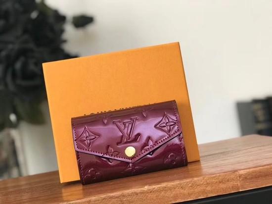 Louis Vuitton Monogram Vernis 6 KEY HOLDER 90900 purple