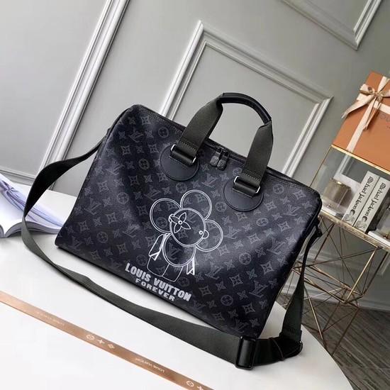 acb536239cea Louis Vuitton Original flower SPEEDY BANDOULERE 40 M43697