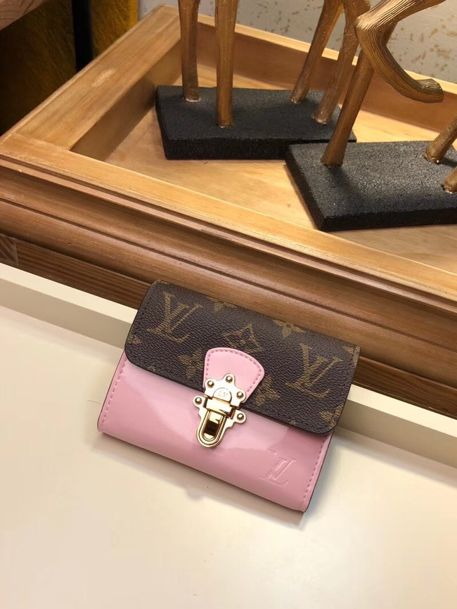 Louis Vuitton CHERRYWOOD COMPACT WALLET M61911 pink