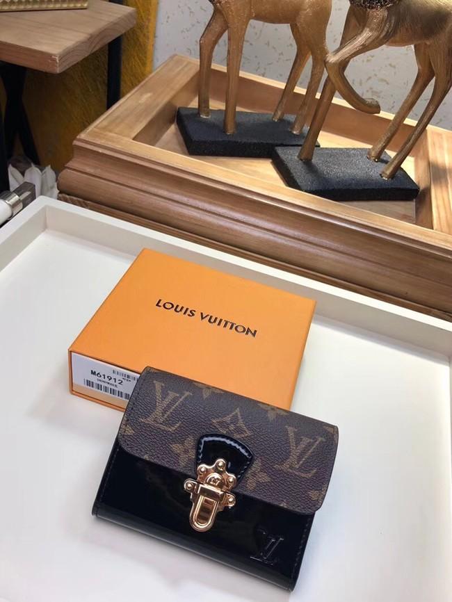 Louis Vuitton CHERRYWOOD COMPACT WALLET M61911 black