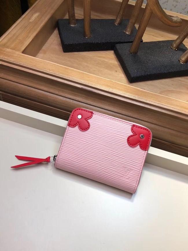Louis Vuitton Epi Leather VICTORINE ZIPPY COIN PURSE M62971 pink