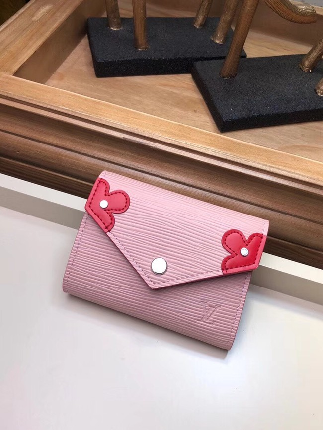 Louis Vuitton Epi Leather VICTORINE WALLET M62980 pink