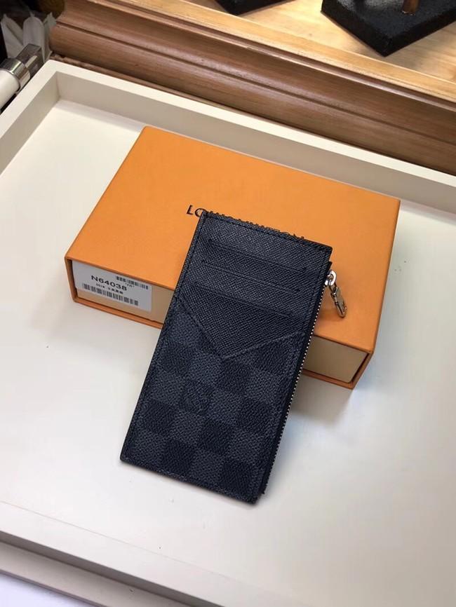 Louis Vuitton COIN CARD HOLDER N64038