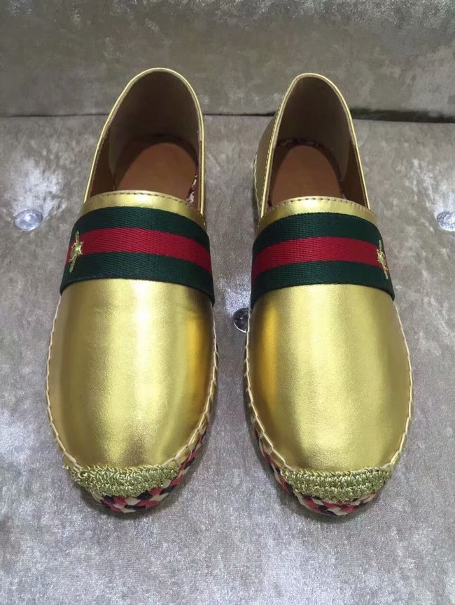Gucci lady Casual shoes GG1380LD gold