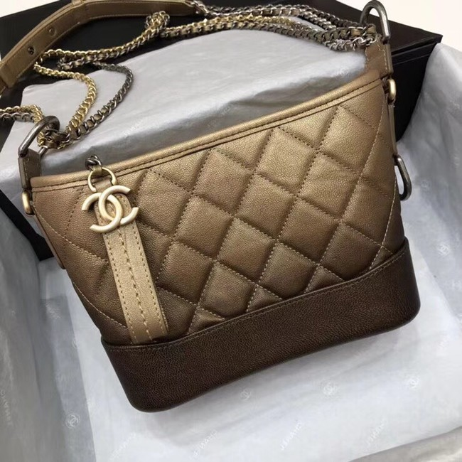CHANEL GABRIELLE Small Hobo Bag A91810 yellow