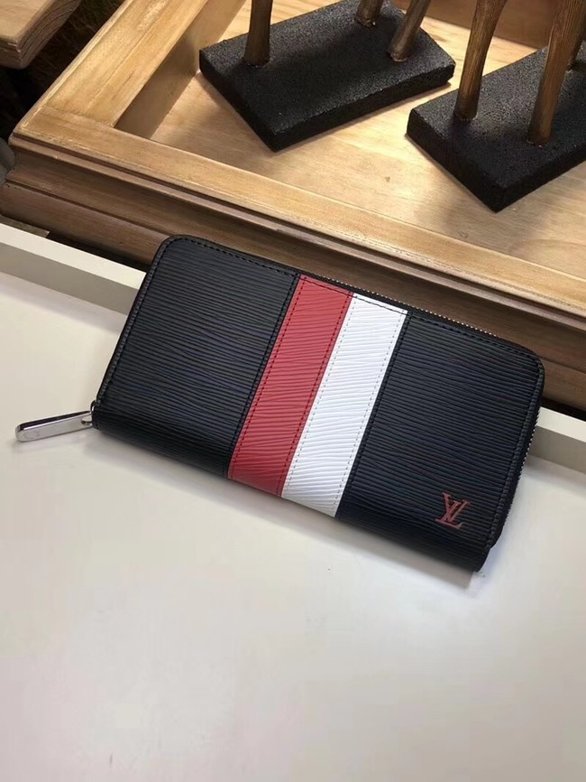 Louis Vuitton ZIPPY WALLET M62983 black