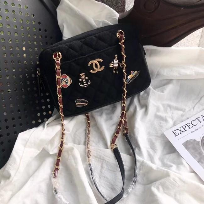 Chanel Camera Case A91731 Black
