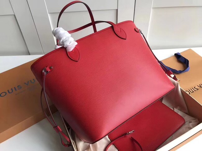 Louis Vuitton NEVERFULL MM M40932 red