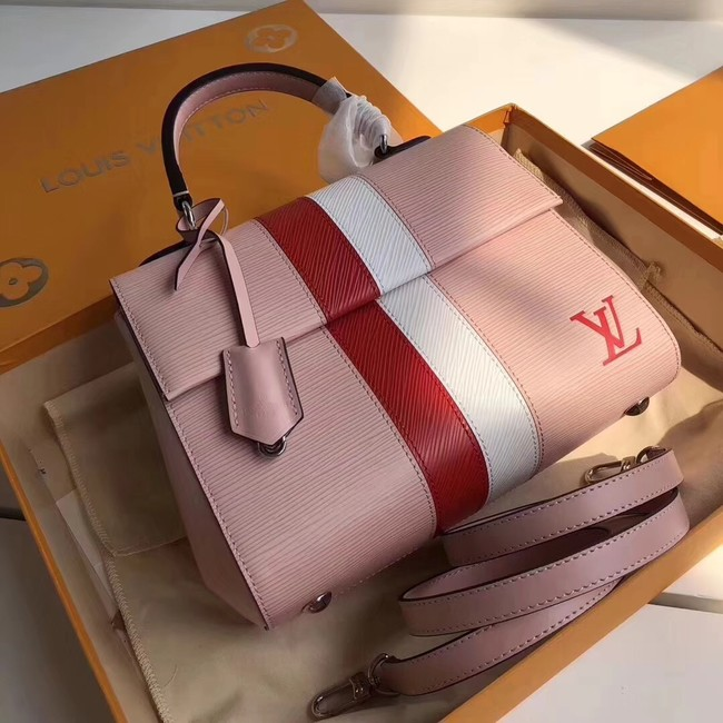Louis Vuitton Epi Leather CLUNY BB M41312 pink