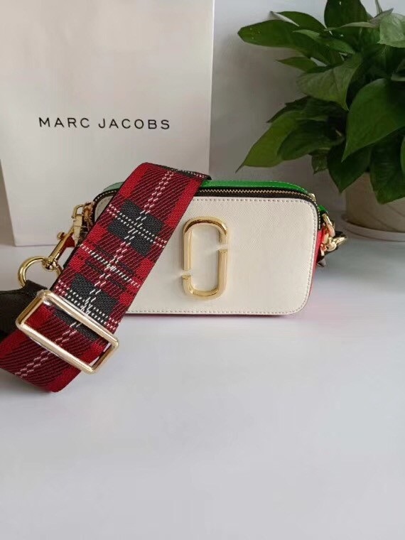 MARC JACOBS Snapshot Saffiano leather cross-body bag 23770