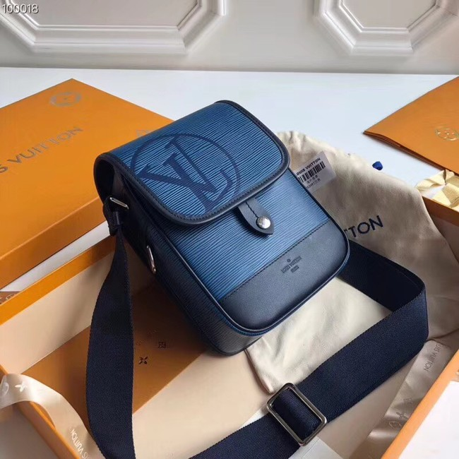 Louis vuitton MESSENGER PM M53495 blue
