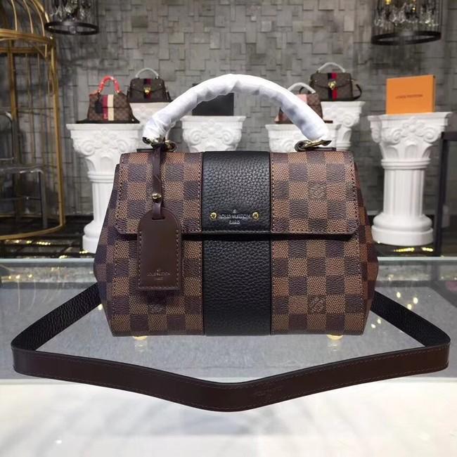 Louis Vuitton Original Damier Ebene Canvas BOND STREET BB M41071 black 022128fc517ac