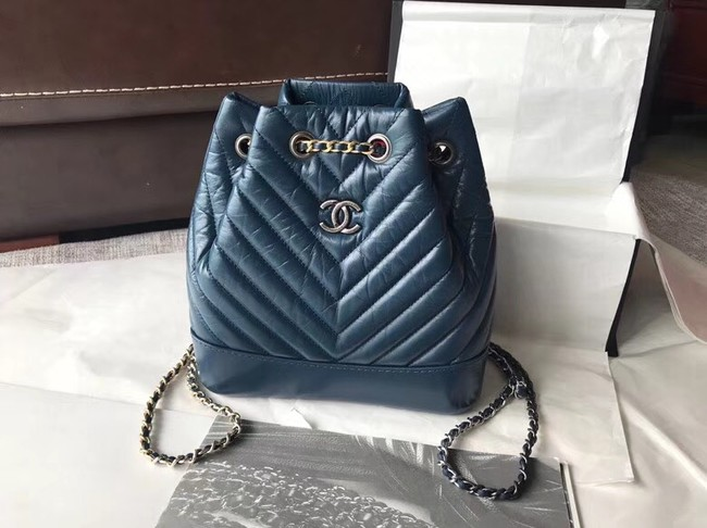 CHANEL Original Gabrielle Small Backpack A94485 blue