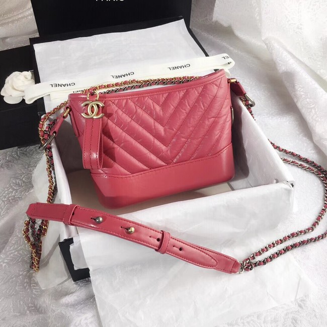 CHANEL GABRIELLE Original Small Hobo Bag A91810 Pink