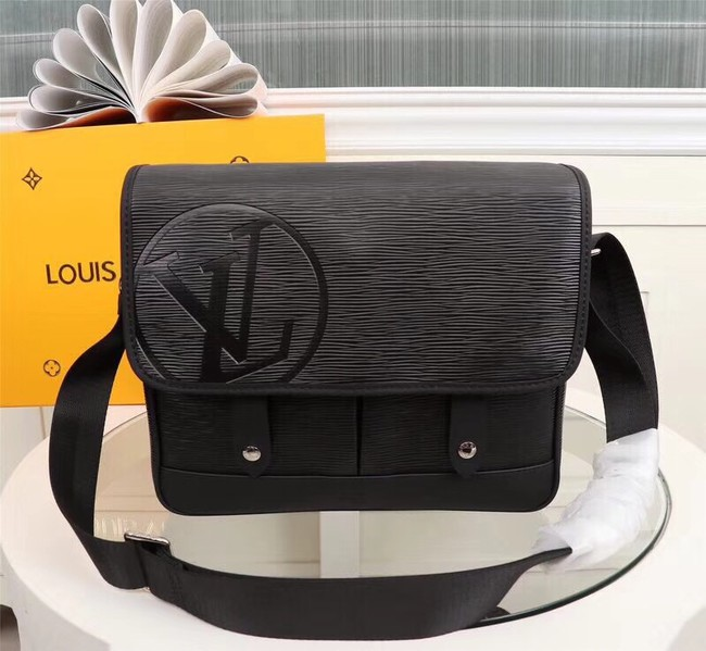 LOUIS VUITTON MESSENGER PM M53492 black