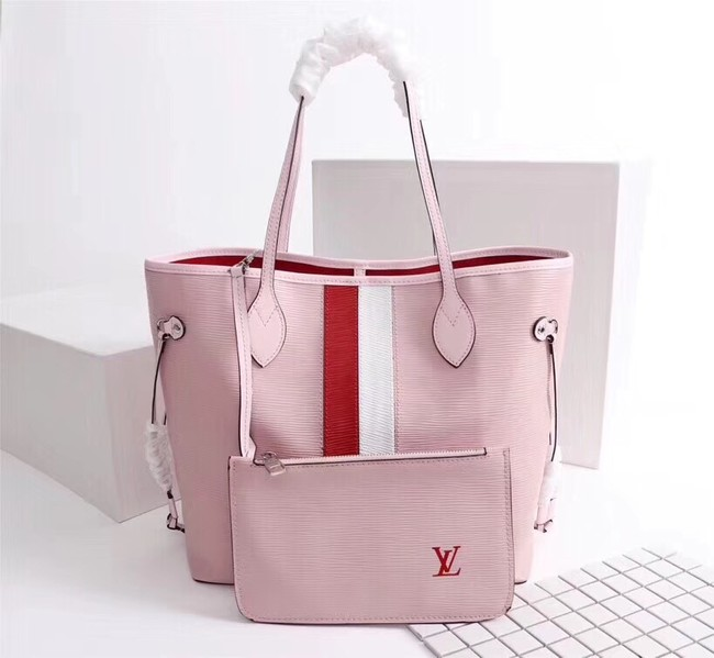 Louis Vuitton Neverfull Epi Leather MM 53763 pink