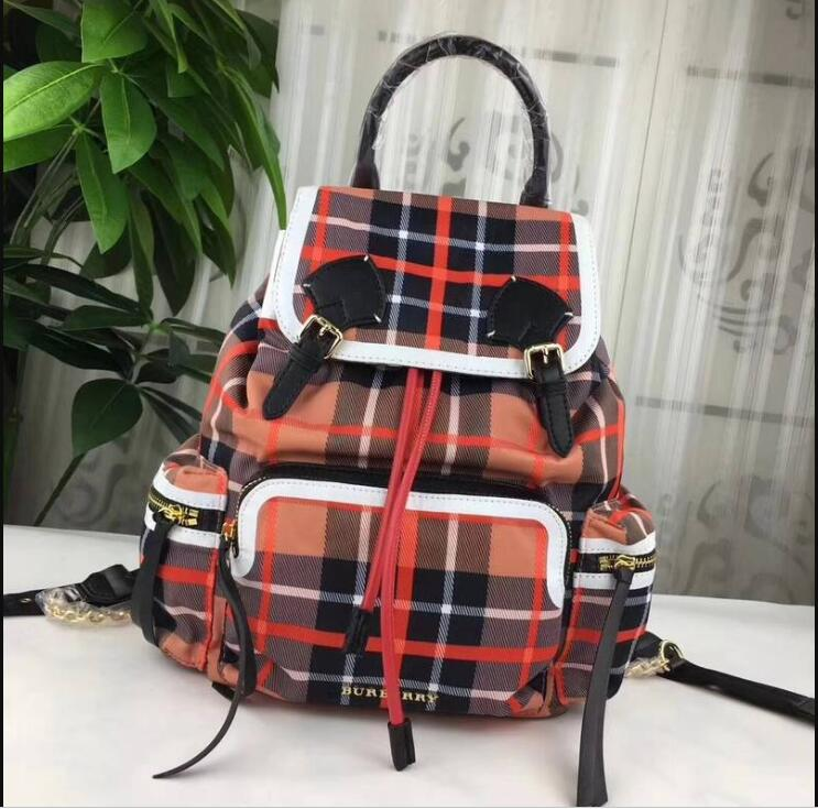 Burberry Large Backpack Fabric BU55348