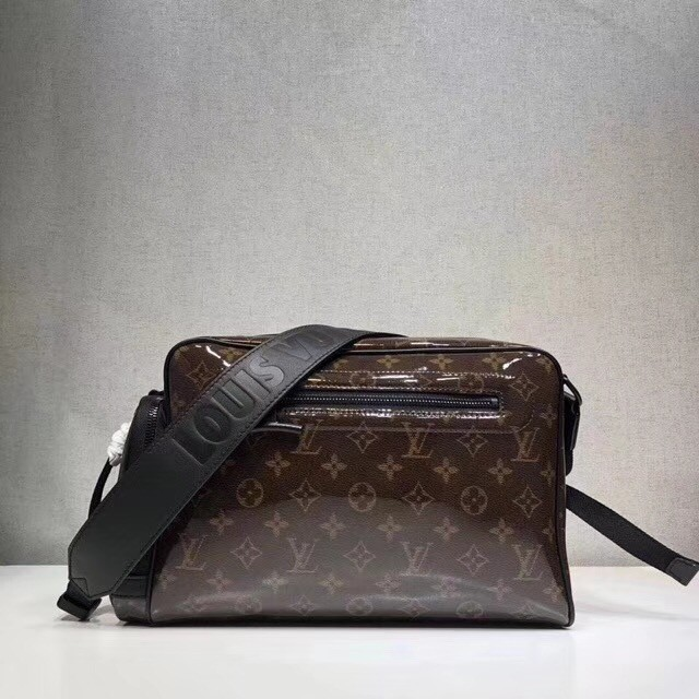 Louis vuitton original CAMERA BAG M43884 brown