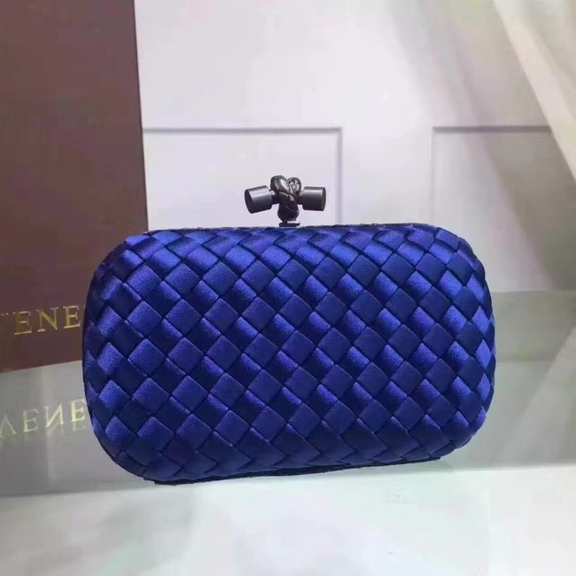 Bottega Veneta Japanese Silk ribbon Clutch 0312 blue