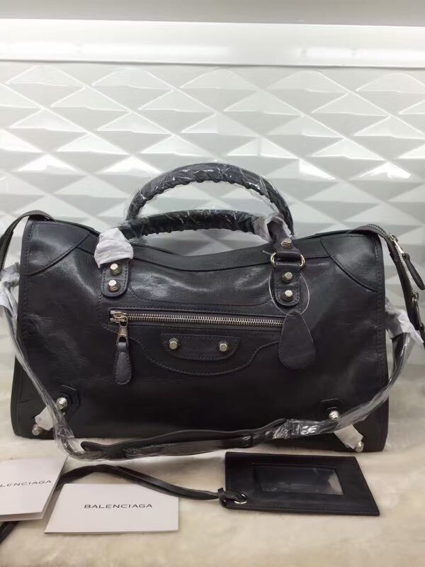 Balenciaga The City Handbag 084332 GREY