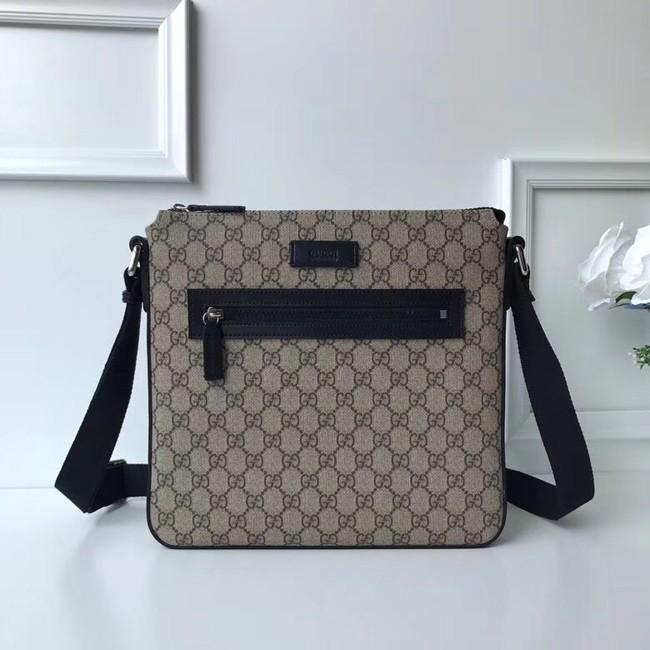 Gucci Courrier soft GG Supreme messenger 406408 black