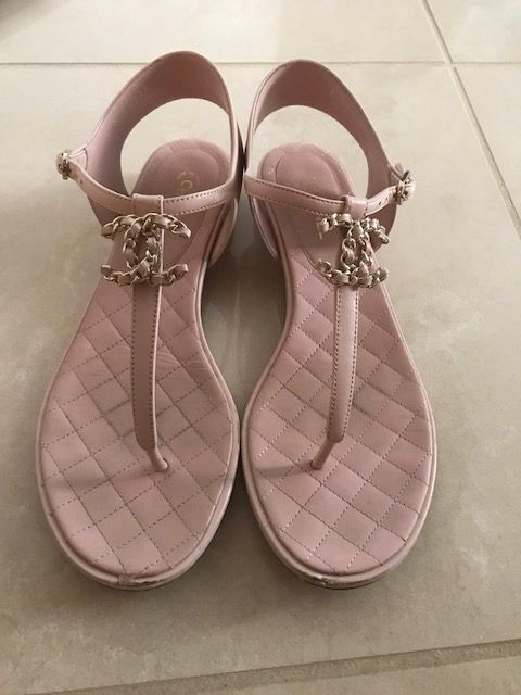 Chanel lady Sandals CH2539HLL pink