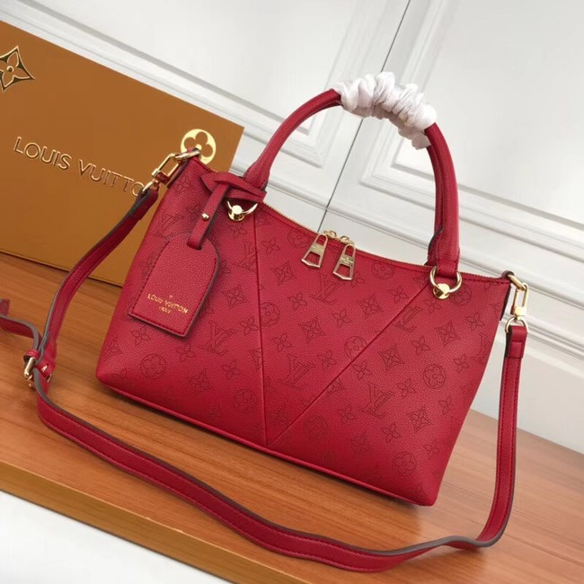 Louis Vuitton Mahina Leather m66817 red