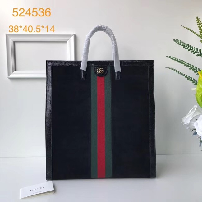 Gucci Soft GG Supreme tote 524536 black