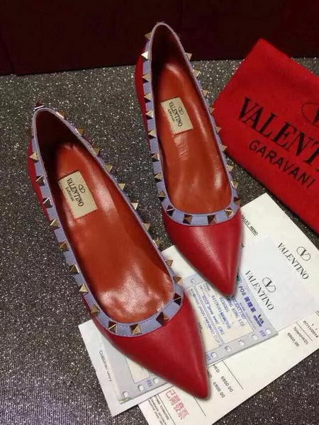 Valentino Sheepskin Leather 65MM Pump VT381JX Red