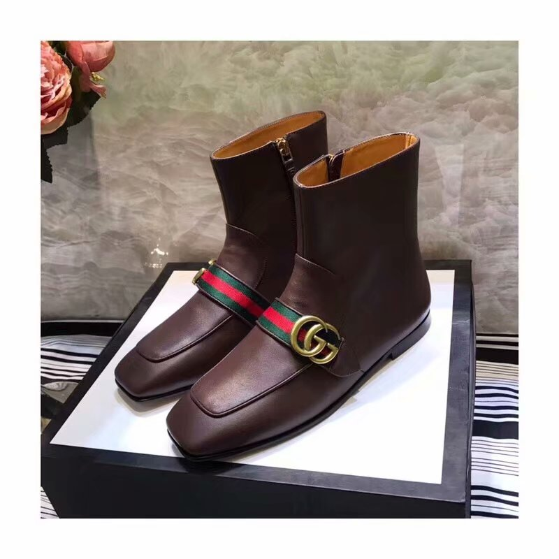 Gucci Shoes GG1402BL Brown