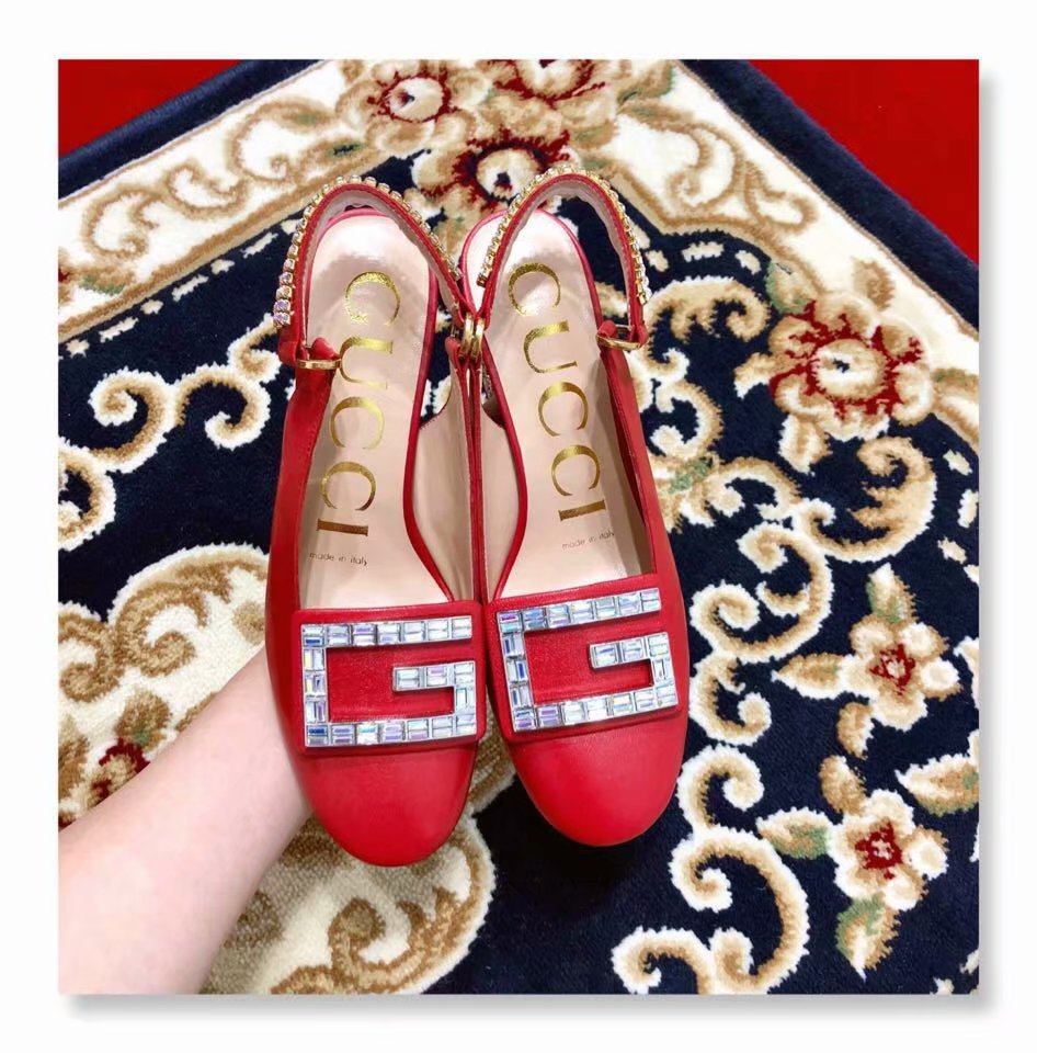 Gucci Shoes GG1422BL Red