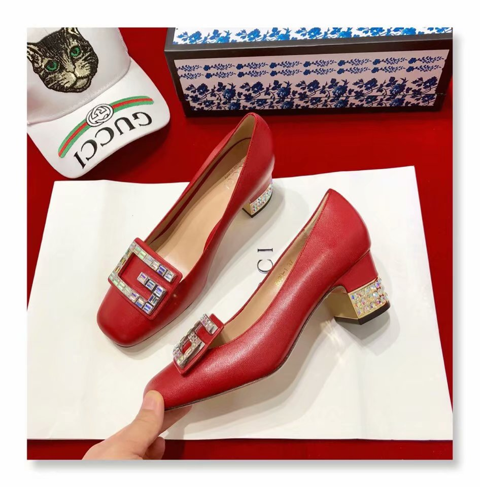 Gucci Shoes GG1423BL Red