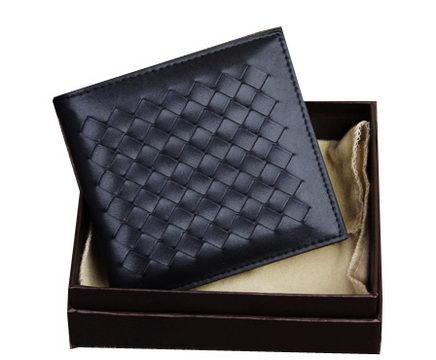 Bottega Veneta Intrecciato Nappa Wallet BV6815 Black