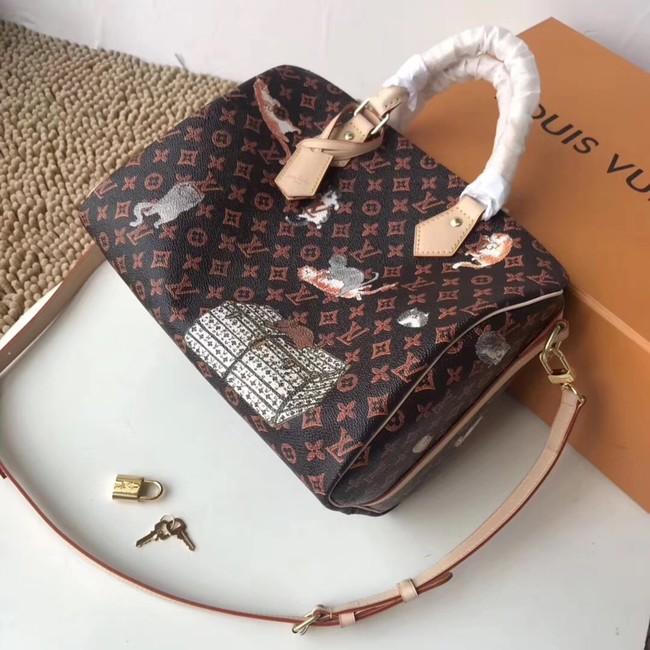 Louis Vuitton SPEEDY 30 BANDOULIERE M44401 brown