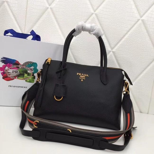 Prada Calf leather bag 1BA157 black