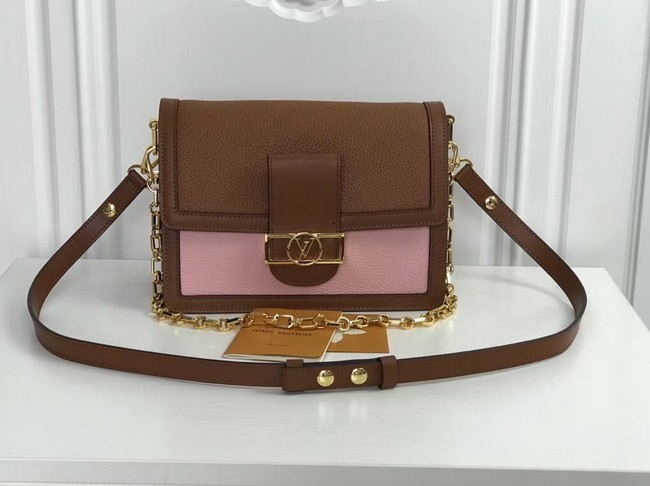 Louis Vuitton original SAINT SULPICE PM M44391 brown with pink
