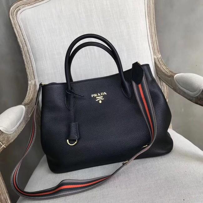 Prada Calf leather bag BN1579 black