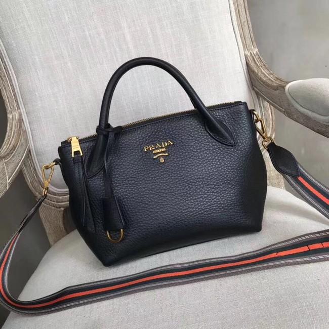 Prada Calf leather bag 1BH111 black