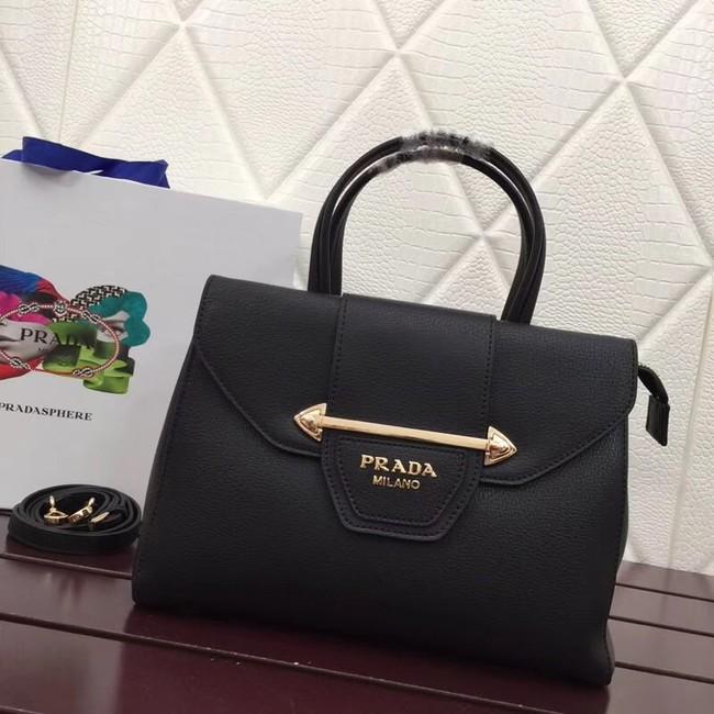 Prada Calf leather bag 13709 black