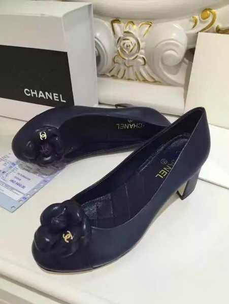 Chanel Sheepskin Leather 50mm Pump CH2075 Royal