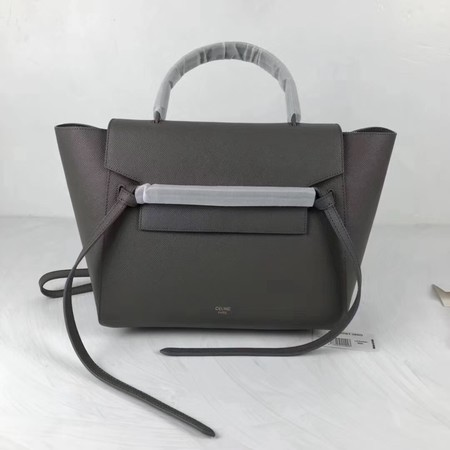 Celine Small Belt Bag Original Leather C9984 Gray