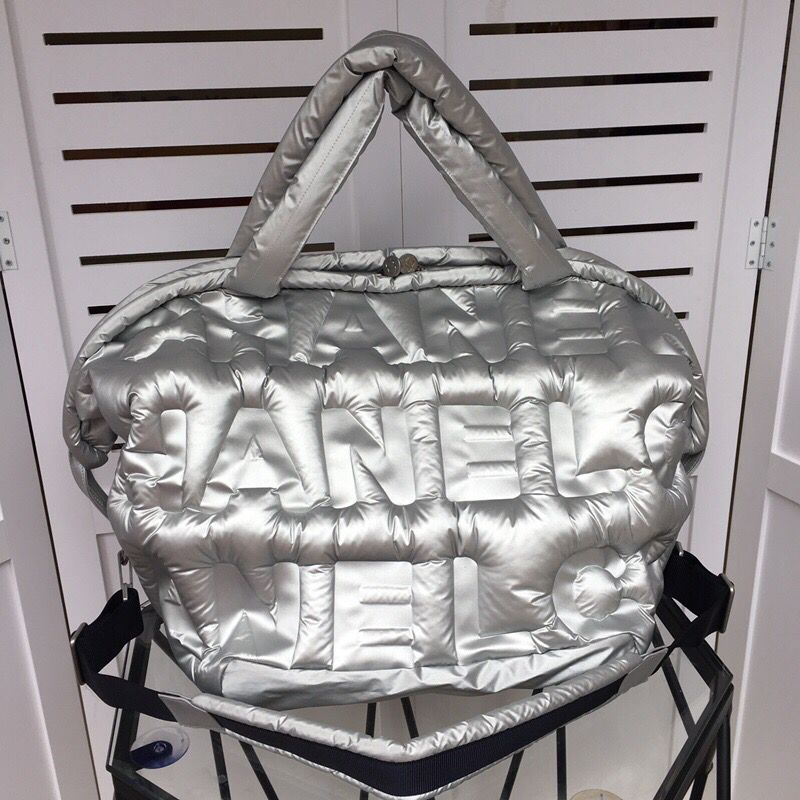 Chanel large shopping bag C3405 Silver