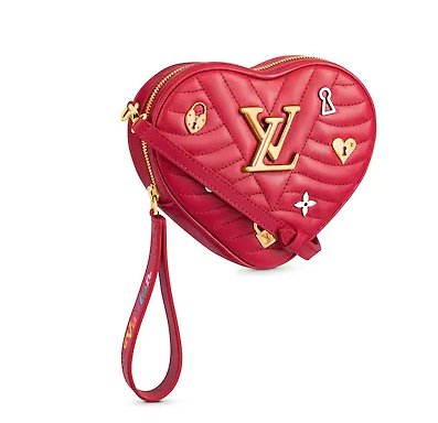 Louis Vuitton HEART BAG NEW WAVE M52794 red