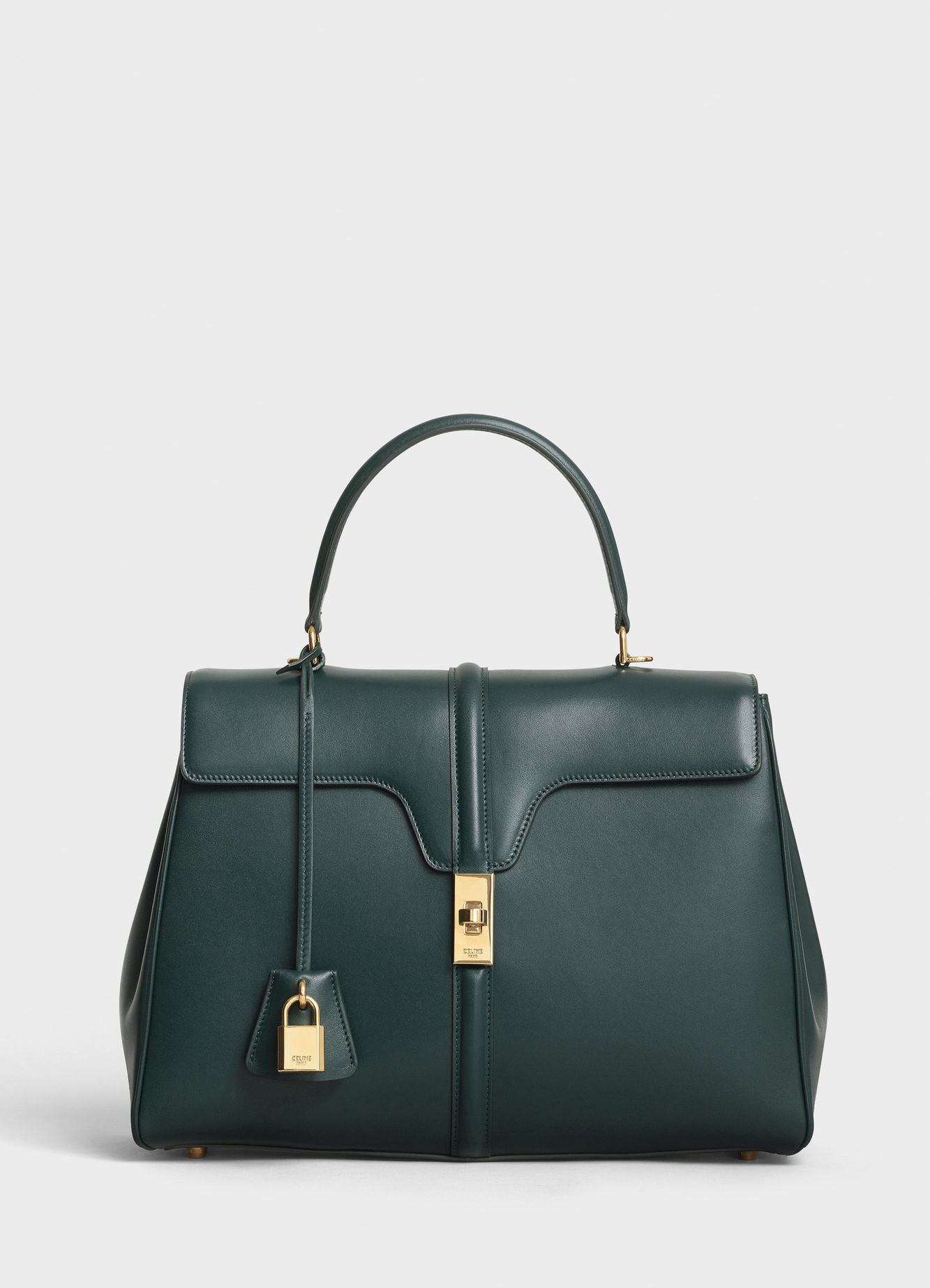CELINE MEDIUM 16 BAG IN SATINATED CALFSKIN 187373 AMAZONE