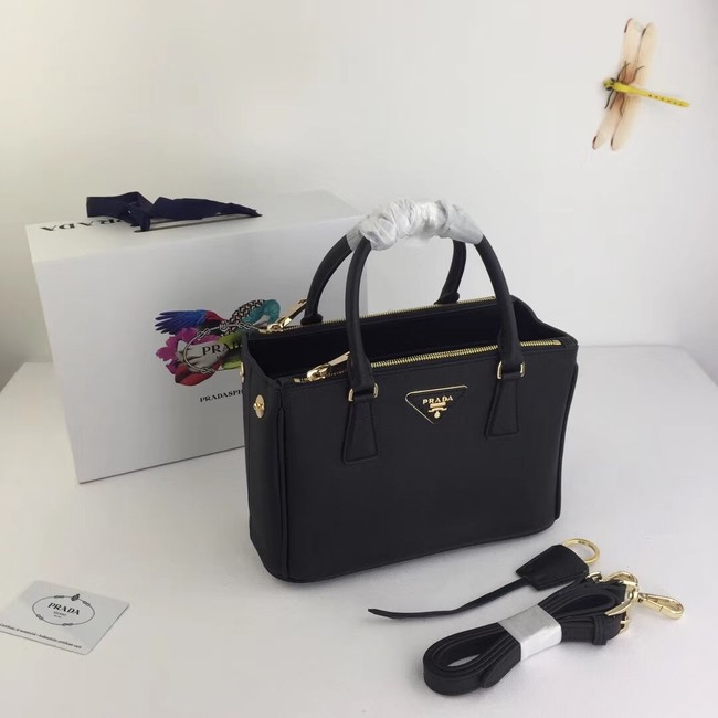 Prada Galleria Small Saffiano Leather Bag BN2316 black